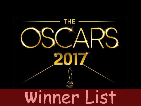 ऑस्कर अवार्ड 2017...जानिए किसने मारी बाजी कौन रह गया पीछे..Winner List