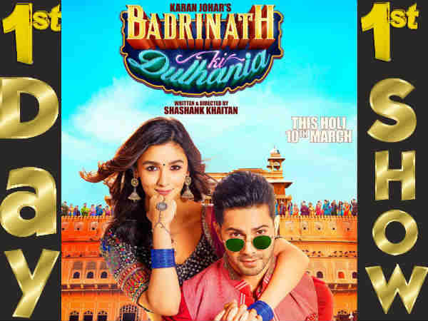badrinath-ki-dulhaniya-film-review-live-audience-first-day-first-show