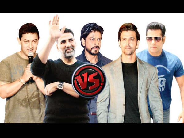अक्षय कुमार VS शाहरूख, सलमान, आमिर, अजय देवगन.. जानें नतीजा!