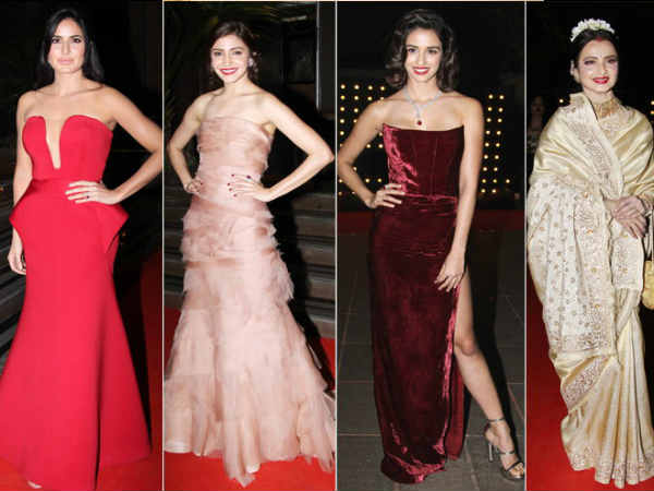 Bollywood stars at Hello hall of fame awards 2017
