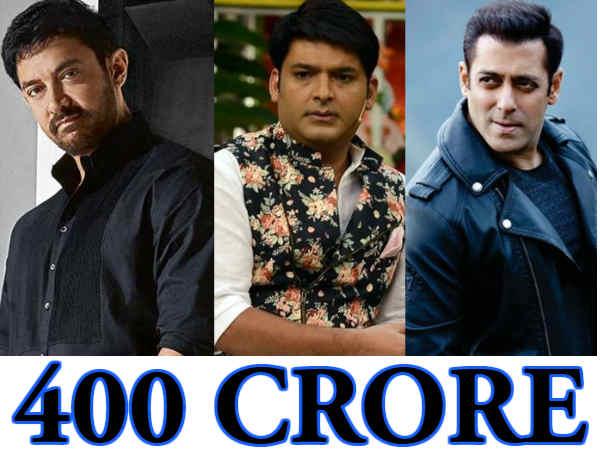 #Shock: 550 करोड़ कपिल शर्मा की कमाई, आमिर खान से ज़्यादा दिया इनकम टैक्स!