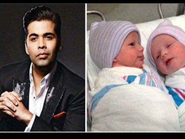 Karan Johar twins pic going viral