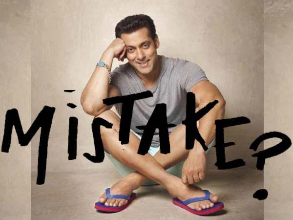 #Ouch: सलमान खान ने फिर वही 15 साल पुरानी वाली गलती कर डाली है!