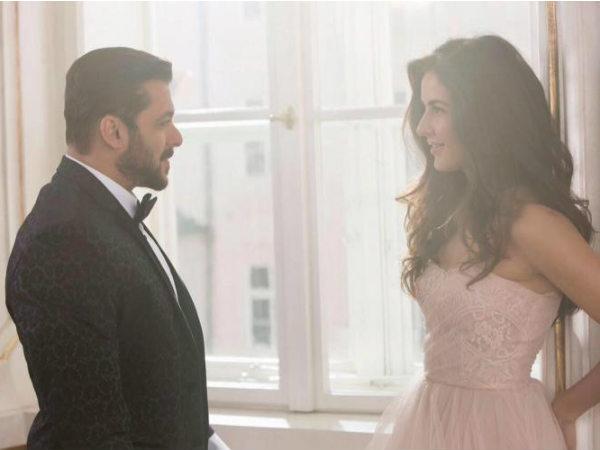 First LOOK: 'टाईगर जिंदा है'.. सलमान खान- कैटरीना का रोमांटिक अंदाज.. शानदार