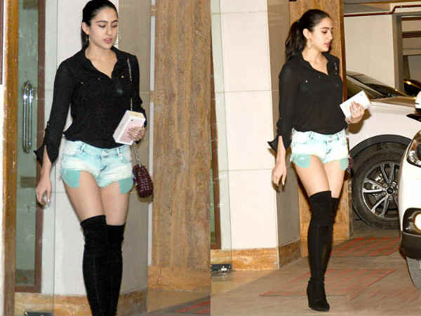 saif-ali-khan-daughter-sara-khan-sexy-look-at-dinner-party