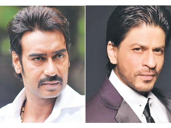शाहरूख खान VS अजय देवगन.. वो भी सलमान खान के साथ!