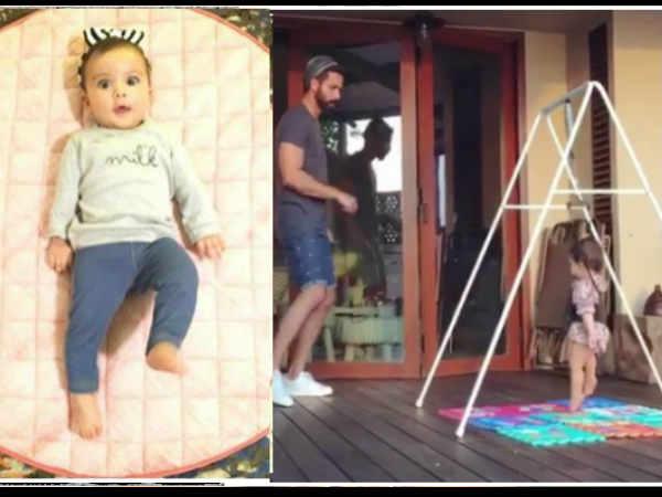 शाहिद कपूर और बेटी मीशा ने वर्ल्ड डांस डे पर कुछ यूं किया डांस..VIDEO