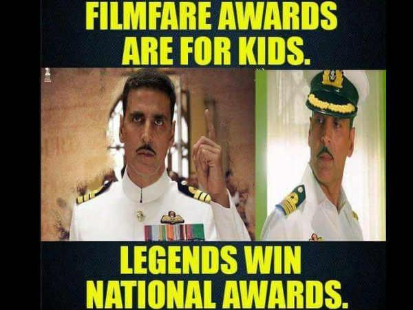 PLEASE...अगर मैं बेस्ट नहीं था तो मेरा नेशनल अवार्ड वापस लीजिए - अक्षय कुमार