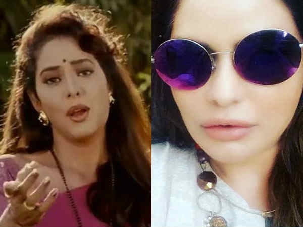 mohra-actress-poonam-jhawer-looks-unrecognizable-after-plastic-Surgery