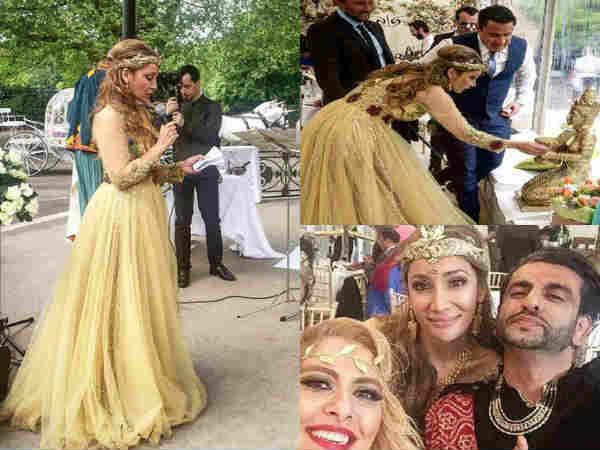 WeddingPics..सोफिया हयात ने कर ली शादी..देखें तस्वीरें