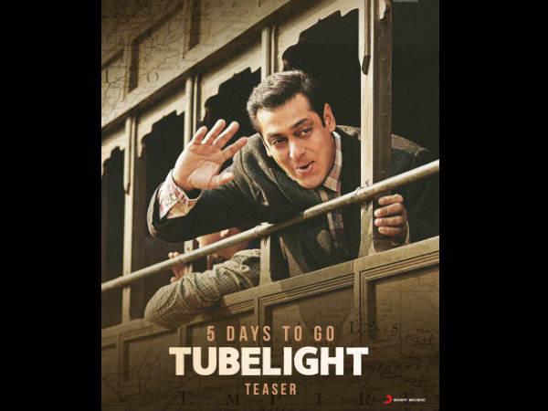 #Tubelight: बहुत हुआ बाहुबली 2.. आ रहे हैं सलमान भाईजान.. 5 दिनों में.. FINAL