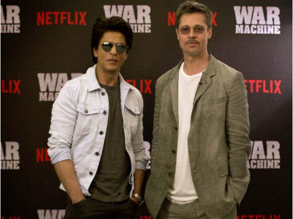 ब्रैड पिट और शाहरुख खान एक साथ..किंग खान ने किया 'खास वादा'