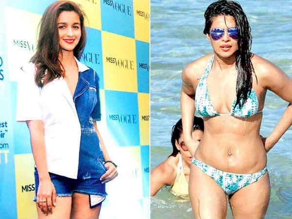 प्रियंका चोपड़ा के Bikini लुक पर आलिया भट्ट का शॉकिंग कमेंट