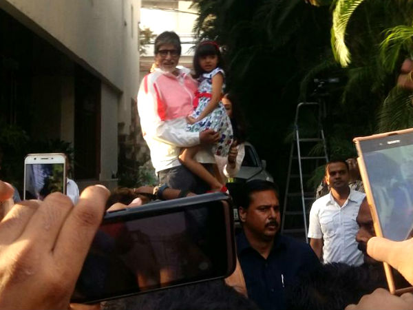 aaradhya-bachchan-join-amitabh-bachchan-during-sunday-waves