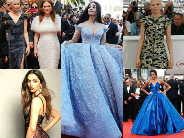#Cannes2017..किसी की ड्रेस उड़ी..किसी की हुई जमकर तारीफ..तस्वीरें होश उड़ा देंगी !
