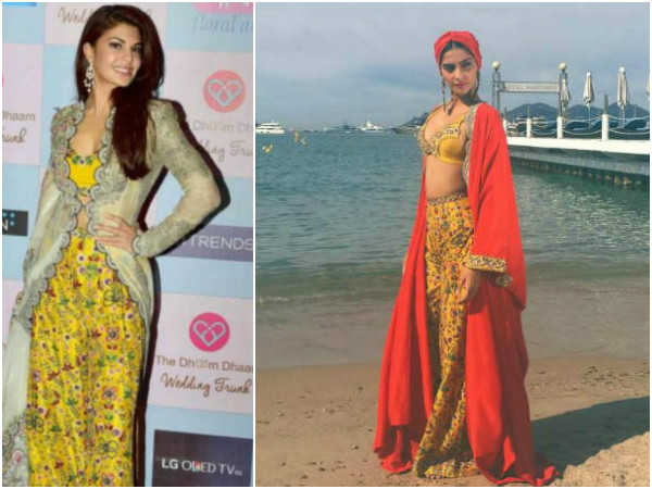 sonam-kapoor-copied-jacqueline-fernandez-dress-in-cannes-2017