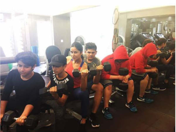 katrina-kaif-workout-with-salman-khan-nephew-calls-them-future-tigers