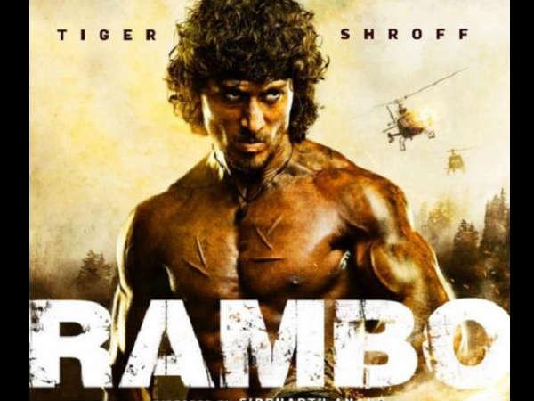 First LOOK:  टाईगर श्राफ की 'रैंबो'.... 2018 की सबसे धमाकेदार एक्शन फिल्म..