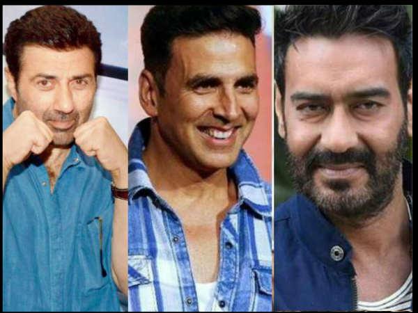 #ALERT: सनी देओल Vs सलमान खान-अक्षय कुमार Vs अजय देवगन ...