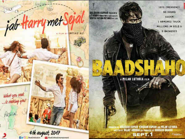Baadshaho and Jab Harry Met Sejal