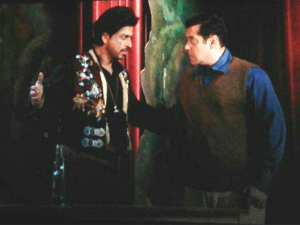 सलमान खान को ऐसा बोलने की हिम्मत मैं नहीं कर सकता - शाहरूख खान