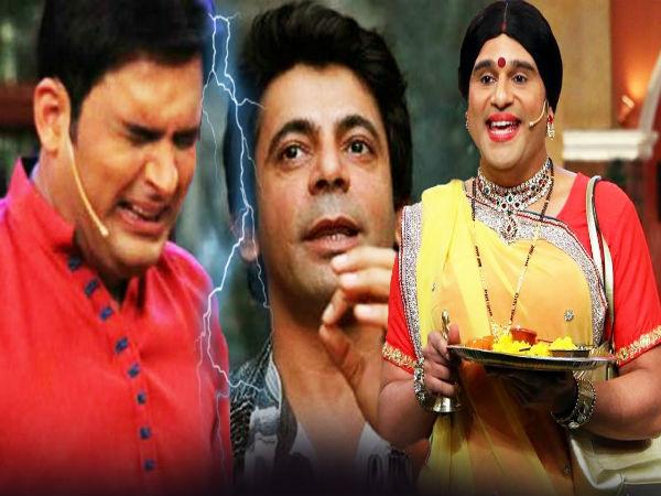 Sunil Grover,Kapil Sharma,Krushna Abhishek