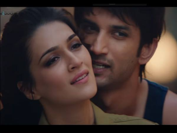 sushant-singh-rajput-and-kriti-sanon-raabta-movie-abusive-language-and-kissing-scene-deleted