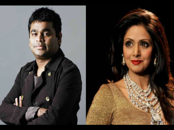 Working with AR Rahman is dream come true says Sridevi