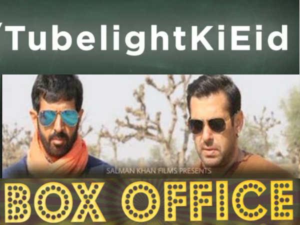 BOX OFFICE पर ट्यूबलाइट का चौथा दिन...सलमान खान आज फैन्स से धोखा खा गए!