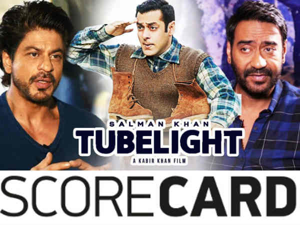 SCORE CARD: शाहरूख छोड़िए...अजय देवगन से भी पीछे हैं सलमान!
