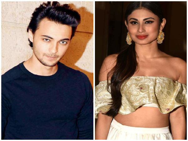aayush sharma,mouni roy
