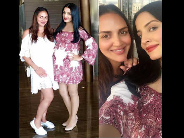 celina-jaitely-shares-adorable-pic-with-esha-deol