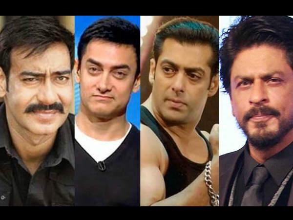 सलमान खान, अजय देवगन ने किया.. शाहरूख, आमिर खान को REPLACE