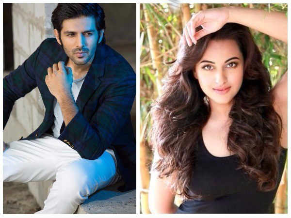 Kartik Aaryan Replaces Aditya Roy Kapur To Act Opposite Sonakshi Sinha And Diljit Dosanjh