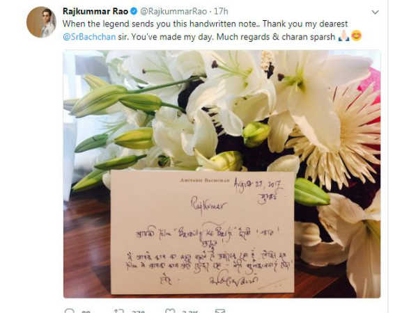 amitabh-bachchan-praises-rajkummar-rao-for-bareilly-ki-barfi-read-his-handwritten-note