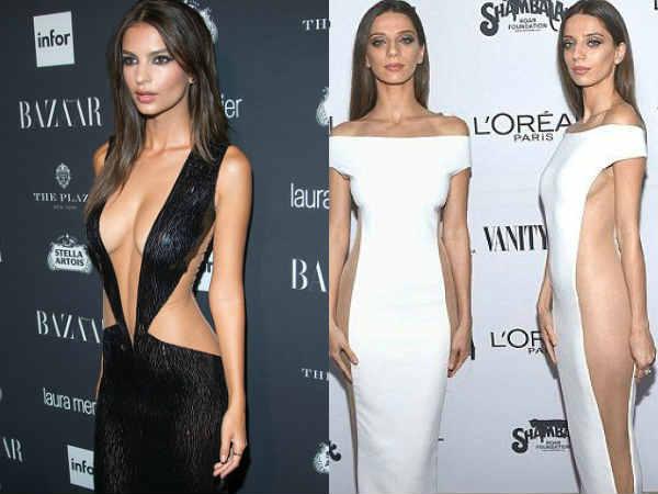 आगे-पीछे से खुली ड्रेस..लोगों ने कहा कुछ तो पहन लेती..अकेले में देखें एक्ट्रेस की HOT तस्वीरें