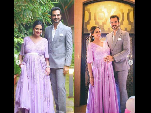 esha-deol-s-sister-ahana-deol-throws-surprise-baby-shower-party-for-her