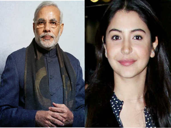 पीएम मोदी ने दिया अनुष्का शर्मा को स्वच्छ  भारत अभियान से जुड़ने का बुलावा