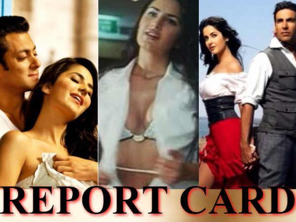'C' ग्रेड फिल्म से लेकर..सलमान-अक्षय की लकी चार्म तक...देखिए REPORT CARD