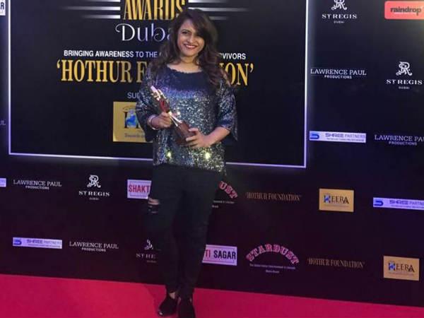 रोहिणी अय्यर को सबसे प्रभावशाली मीडिया उद्यमी के लिए स्टारडस्ट अचीवर्स पुरस्कार!