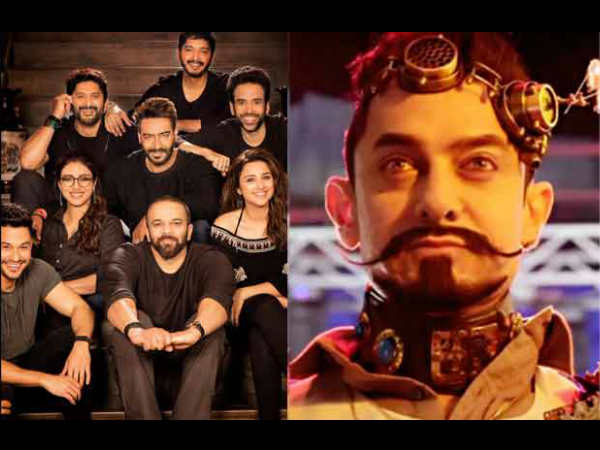 Secret Superstar and Golmaal Again