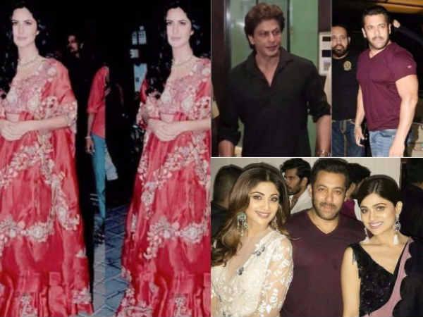 PicsAlert..शाहरुख खान-सलमान खान-कैटरीना कैफ..एक साथ..एक रात...धमाकेदार !