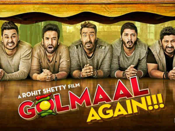 Image result for GOLMAL AGAIN