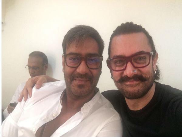 आमिर खान अजय देवगन ने कर दिया गोलमाल..कुछ इस तरह