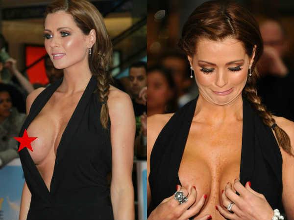 आगे से खुली ड्रेस.. एक्ट्रेस ने दिखाया सबकुछ.. पता चला तो छुपाने लगीं.. अकेले में देखें PICS