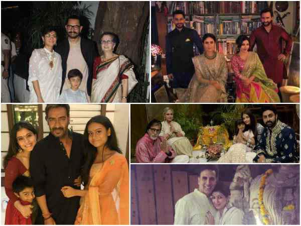 बॉलीवुड परिवार की दिवाली.. करीना, अजय देवगन से लेकर अक्षय कुमार.. देंखे PICS