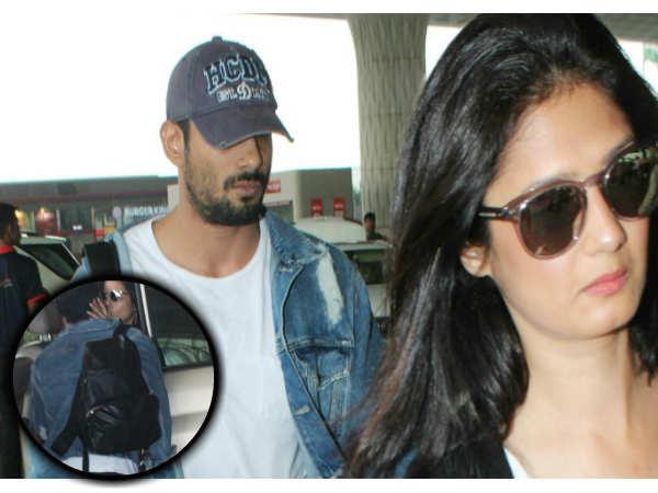 एयरपोर्ट पर KISS करते दिखे ये एक्टर...Mystery Girl के साथ आए नजर