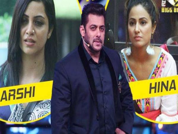 BIGG BOSS 11: वीकेंड का वार..हिना खान की ऐसी हरकत..सलमान का भड़का गुस्सा !