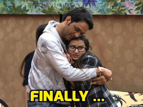 BIGG BOSS 11: विकास ने शिल्पा शिंदे को किया KISS..हो गया इश्क..वीडियो VIRAL