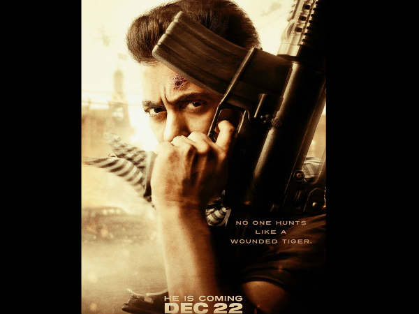 FIRST LOOK: सलमान खान का टाईगर ज़िंदा है का फर्स्ट लुक ...एकदम धमाकेदार!